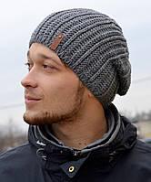 Мужская и детская шапка Арктик Лондон. Шапка унисекс, флис. р.55-57 Т.синий, сред.серый, малина, молоко, черный