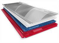 Стільниковий полікарбонат POLYGAL кольоровий 6000х2100х8 мм / Сотовий поликарбонат ПОЛИГАЛЬ цветной.