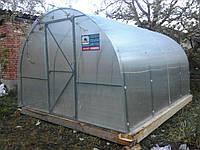 Монтаж теплиці під полікарбонат / Монтаж теплицы под поликарбонат .