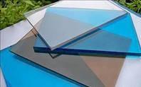 Полікарбонат монолітний, Policam, прозорий 3050х2050х4 мм / Монолитный поликарбонат, Поликам, прозрачный.