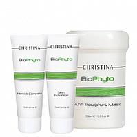Деликатный уход для кожи с признаками купероза (3 продукта) Christina