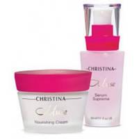 Уход-восстановление Сила розы (2 продукта) Christina