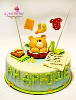 Детский торт на 1 годик