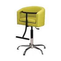 Кресло парикмахерское KID на гидравлике хром