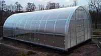 Каркас теплиці під полікарбонат 4х8х2,30 м + шайби в подарунок / Каркас арочной теплицы под поликарбонат.