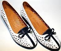 Туфли женские Rifellini Rovigo, летние, кожа, от магазина tehnolyuks.prom.ua - 099-4196944