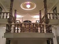 Шлифовка лестничных ступеней из мрамора и гранита