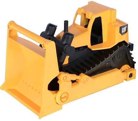 Бульдозер строительная бригада CAT, 25 см (свето-звуковые эффекты) «Toy State» (82022), фото 2