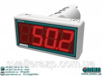 Цифровий одноканальний вимірювач ИТП11