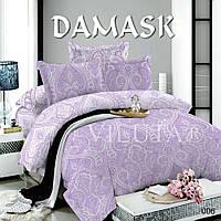 Постельное белье Вилюта поплин Дамаск 006 евро 200x220