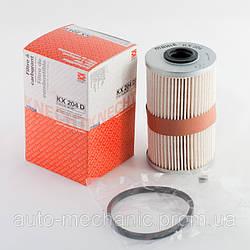 Топливный фильтр на Renault Trafic  2001->  1.9dCi + 2.0dCi + 2.5dCi  —  Knecht  (Германия) - KX204D