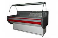 Холодильная витрина Айстермо ВХСК ЛИРА 1.3 М (+2...+8°С, 1300х830х1150 мм, гнутое стекло)
