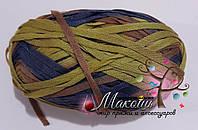 Стоковая ленточная пряжа для вязания, 400 грамм