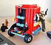 Чашка конструктор Lego (зеленый), фото 2