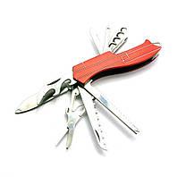 Нож складной с набором инструментов (10 в 1)