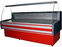 Холодильная витрина Айстермо ВХСКУ ПАЛЬМИРА 1.8 (-4...+5°С, 1800х820х1200 мм, гнутое стекло)