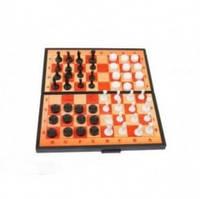 Шахматы 2 в 1 (шашки + шахматы) 5197
