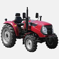 Трактор DW404XP (4 цил, 4 гидровыхода, компрессор, сиденье на пружине, доп. грузы, 7,50-16/11,2-28)
