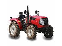 Трактор DW404XE (4 цил, 4 гидровыхода, компрессор, сиденье на пружине, доп. грузы, 7,50-16/11,2-24)