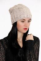 Женская вязаная шапка «Kolos»