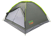 Палатка трехместная GreenCamp 1012