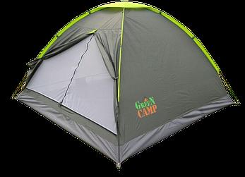 Палатка трехместная GreenCamp 1012, фото 2