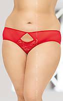 Женские стринги - String 2468, Plus Size, red, XXL