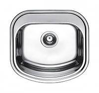 Fabiano Мойка кухонная стальная Fabiano 490*470 микродекор
