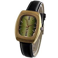 Slava made in USSR позолоченные часы с календарем -苏联的手表