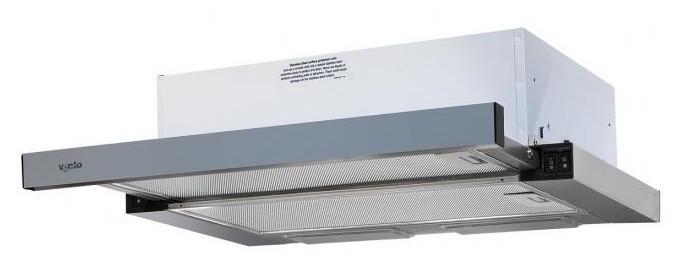 VENTOlux Вытяжка VENTOLUX GARDA 60 INOX (620)