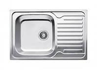 Fabiano Мойка кухонная стальная Fabiano 780*500 микродекор