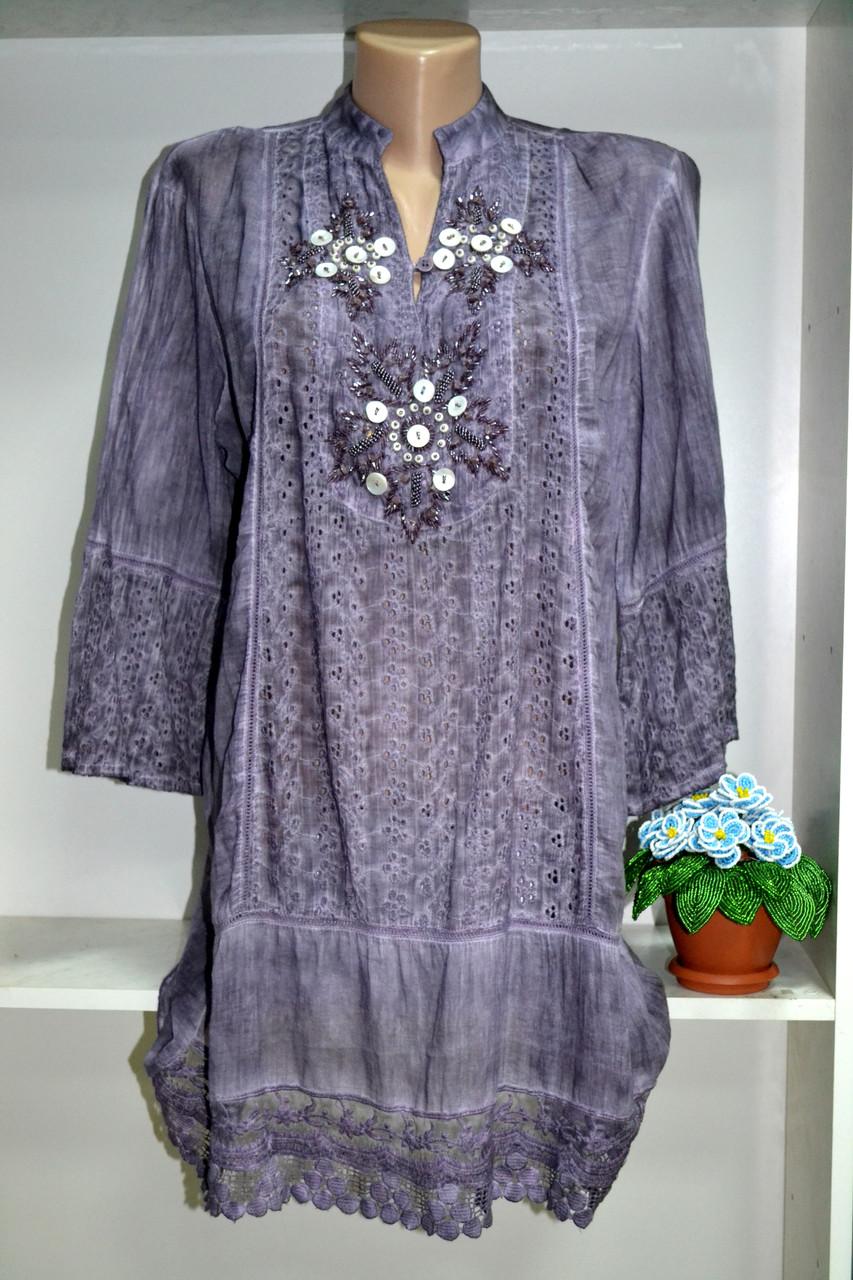 5b6ad8e1bda Стильная женская туника натуральная ткань - Интернет магазин «Stilnaja» в  Днепропетровской области