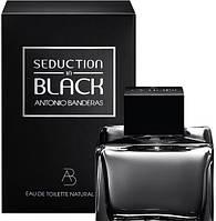 Мужская туалетная вода Antonio Banderas Seduction in Black Men, 50 мл