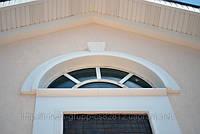 Арка на фасад из пенополистирола с армирующим покрытием, фото 1