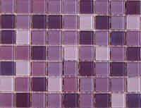 Мозаика, стеклянная, UR-03, нежная фиалка