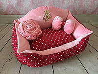 Лежак Сладкий сон вишневый