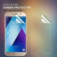 Защитная пленка Nillkin для Samsung Galaxy A5 2017 Duos SM-A520 матовая