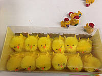 Цыплята 12шт,прозрачн