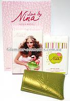 Пробники духов 20 мл в кожаных чехлах Nina Ricci Love by Nina e85e16e89623f