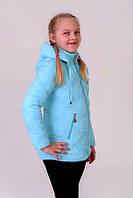 Детская Куртка- жилетка на девочку весна-осень (трансформер) 34, размер