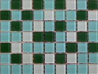 Мозаика, стеклянная, UR-07, олива