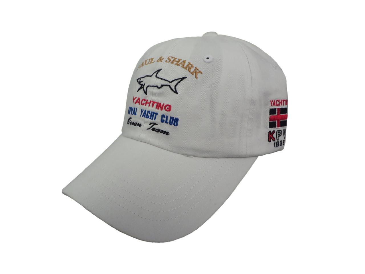 Белая бейсболка Paul Shark (реплика)