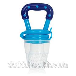 Ниблер силиконовый с защитным колпачком (голубой)