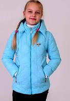 Детская Куртка- жилетка на девочку весна-осень (трансформер)  4 цвета -  от 6 до 10 лет