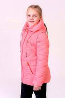 Детская Куртка- жилетка на девочку весна-осень (трансформер)  4 цвета -  на 6,7,8,9,10 лет
