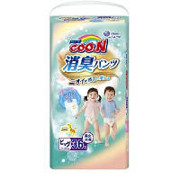 Трусики-подгузники GOO.N серии AROMAGIC DEO PANTS для весом детей 12-20 кг (р.Big(XL),унисекс,36шт.) (853112)