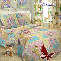 Детский комплект постельного белья Совушка, фото 1