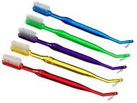 Зубная щётка R.O.C.S. Plak Smacker с ёршиком для брекетов