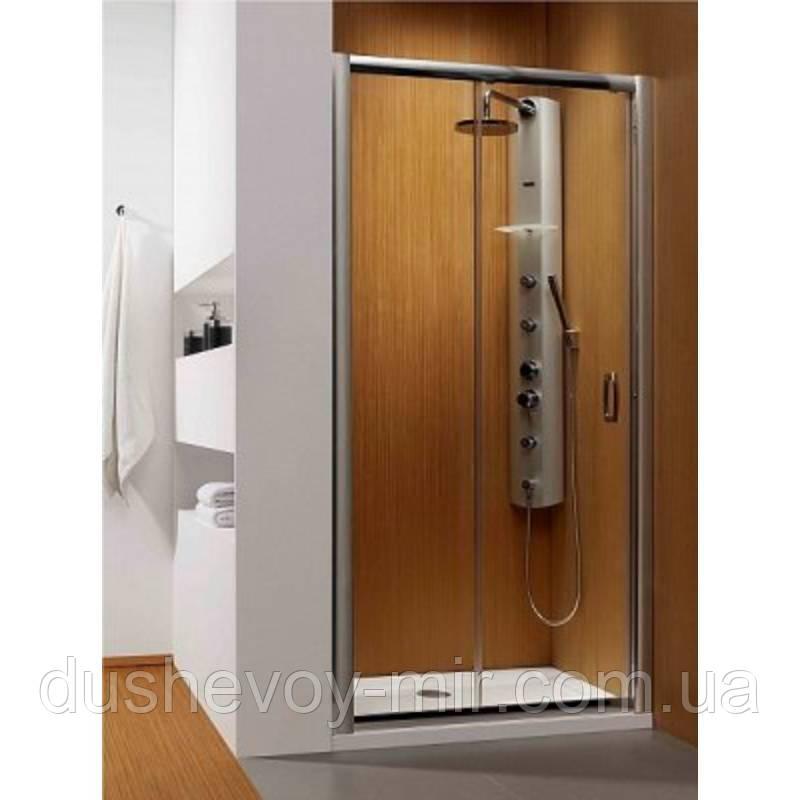 Дверь в нишу Radaway Premium Plus DWJ 100 (972-1015x1900) прозрачная/хром (33303-01-01N) - Душевой мир в Киеве