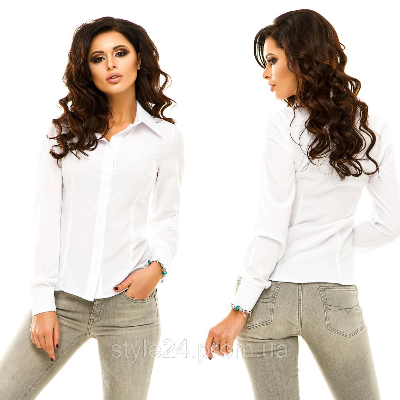 Жіноча блуза на гудзики